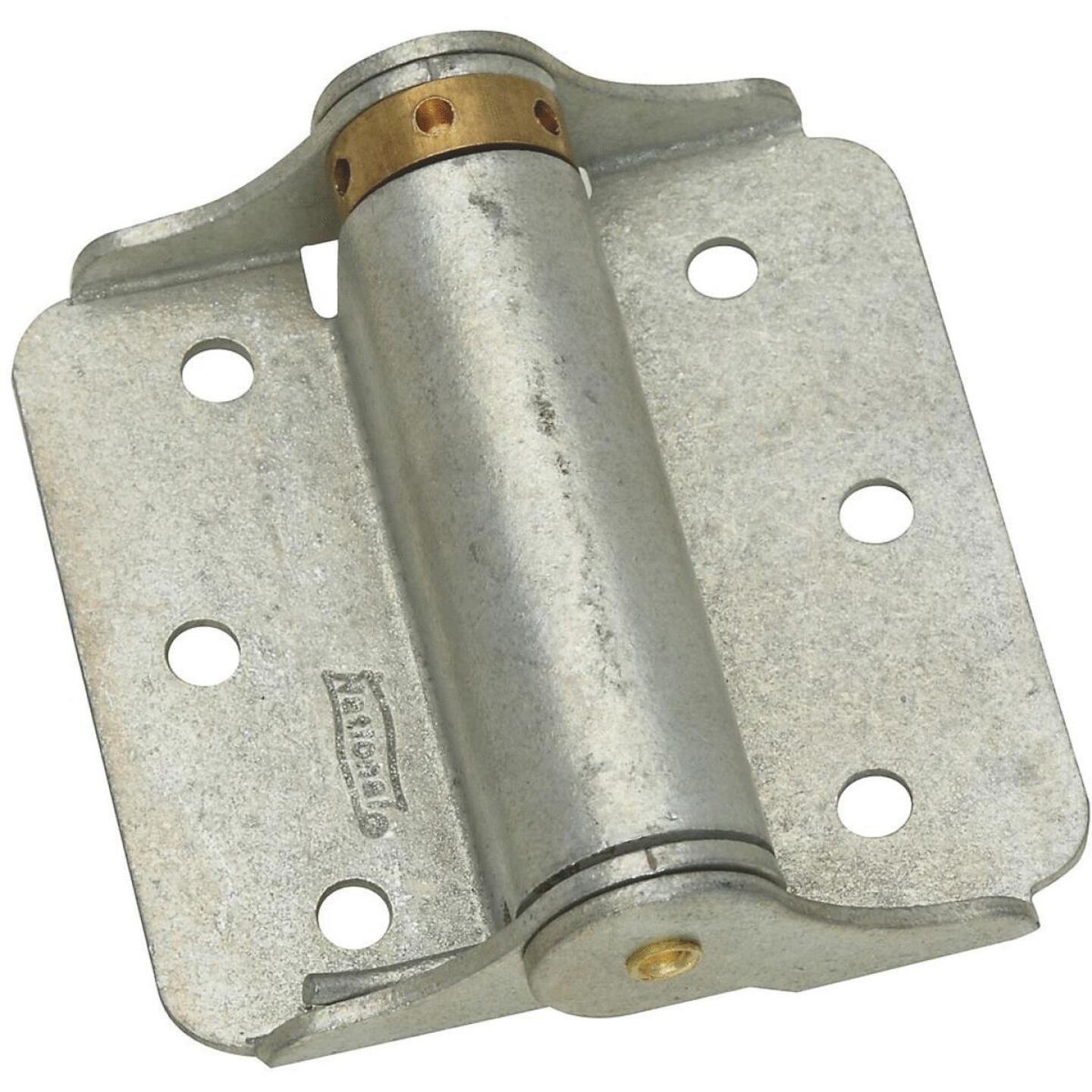 National 3 In. Galvanized Full-Surface Spring Door Hinge (2-Pack) Image 1