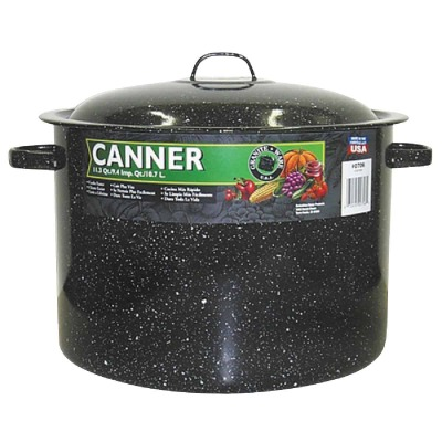 GraniteWare 11.5 Qt. Mini Black Canner