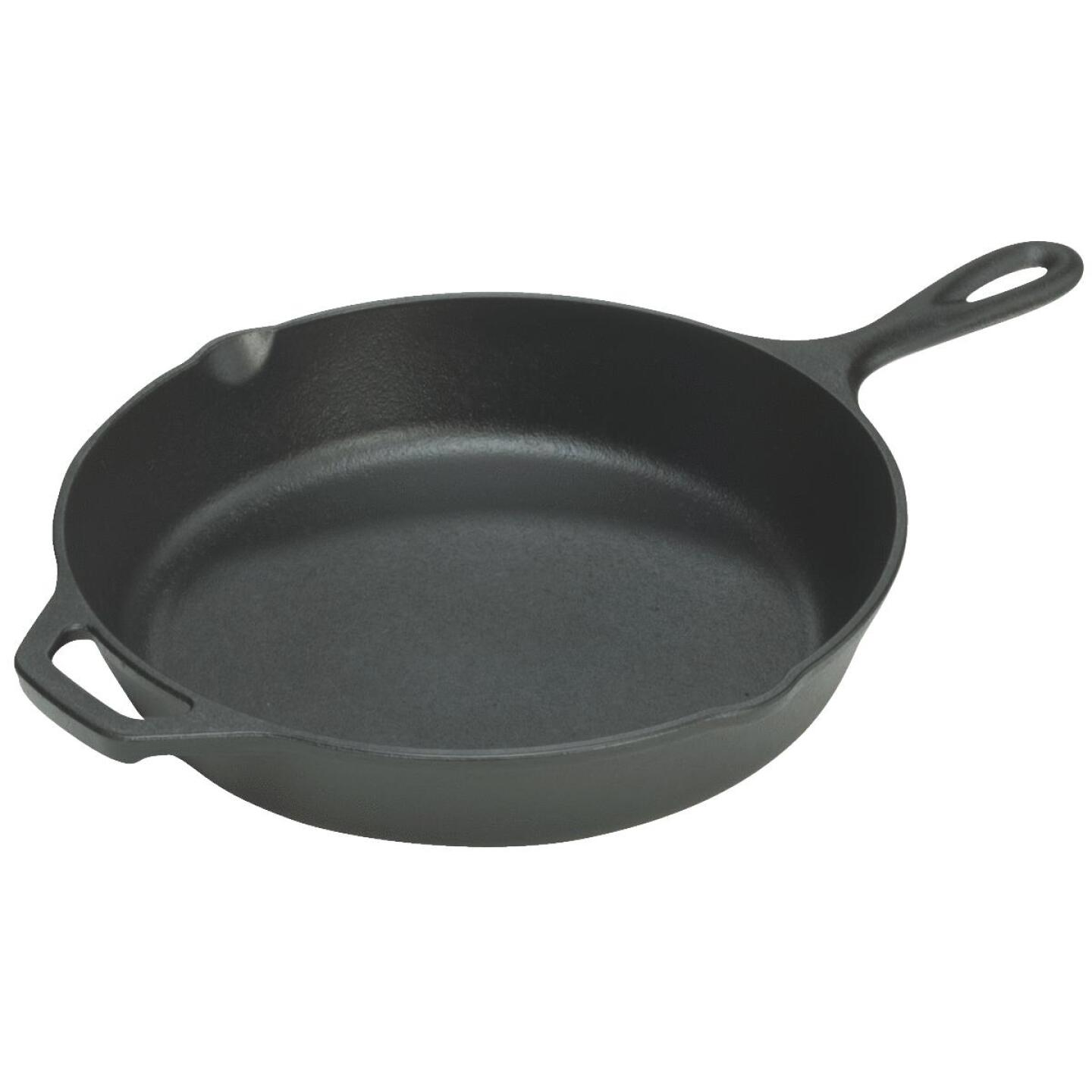 Lodge 13-1/4 In. Cast Iron Skillet with Assist Handle Image 1