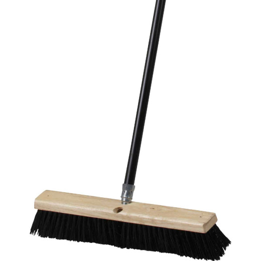 Do it Best 18 In. W. x 60 In. L. Metal Handle All-Purpose Push Broom