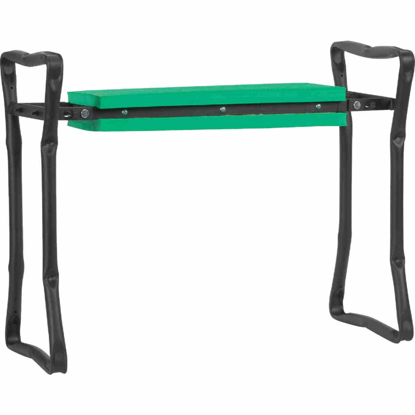 Best Garden Green Foam Pad w/Black Steel Frame Garden Kneeler Bench Image 1