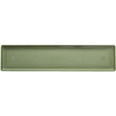 Novelty 32-3/8 In. Sage Plastic Flower Box Tray