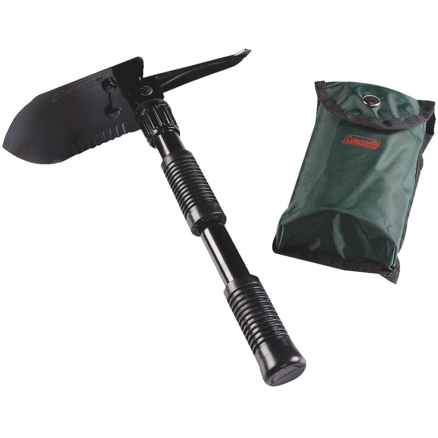 Coleman 16.25 In. Steel Folding Shovel with Pick Image 1